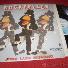 Discos de vinilo: JOSE LUIS MORENO ROCKFELLER 12 MX 1985 HISPAVOX . Lote 33274494