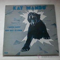Discos de vinilo: KAT MANDU, QUIERO BAILAR, MAXI 1983, ESPAÑA, RARO, EXCELENTE ESTADO OFERTA. Lote 33275437