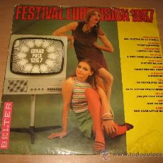 LP FESTIVAL EUROVISION 1967 / LOS STOP , LOS CATINOS, CHALPIN , SABRINA , BRUCK . BELTER 1967 RARO