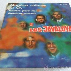 Discos de vinilo: LOS JAVALOYAS - MAGICOS COLORES + 3 EP 1967. Lote 33302461