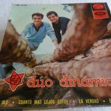 Discos de vinilo: DUO DINAMICO - EL OLE + 3 EP 1965. Lote 33360823