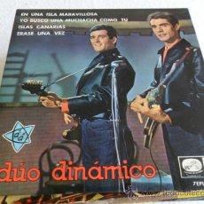 Discos de vinilo: DUO DINAMICO -EN UNA ISLA MARAVILLOSA +3 EP 1965. Lote 33360837