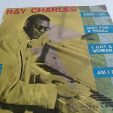 Discos de vinilo: RAY CHARLES -DEED I DO + 3 EP 1961. Lote 33361984