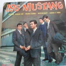 Discos de vinilo: LOS MUSTANG - PLEASE PLEASE ME + 3 EP 1964. Lote 33383829