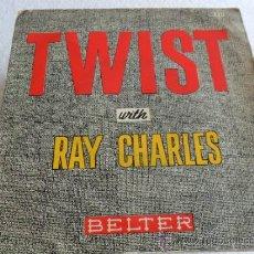 Discos de vinilo: RAY CHARLES - TWIST - HEARTBREAKER + 3 EP 1962. Lote 33384537