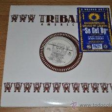 Discos de vinilo: UNDERGROUND SOUND OF LISBON.SO GET UP.2LP'S.(IRS RECORDS 1994),TRIBAL AMERICA. Lote 33309612