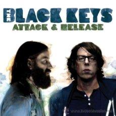 Discos de vinilo: LP THE BLACK KEYS ATTACK & RELEASE PUNK BLUES VINILO + CD. Lote 130396940