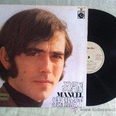 Discos de vinilo: LP-JOAN MANUEL SERRRAT-LA PALOMA. Lote 33322080