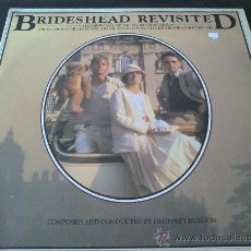 Discos de vinilo: RETORNO A BRIDESHEAD, BRIDESHEAD REVISITED, MÚSICA POR GEOFFREY BURGON - BANDA SONORA ORIGINAL. Lote 33328448