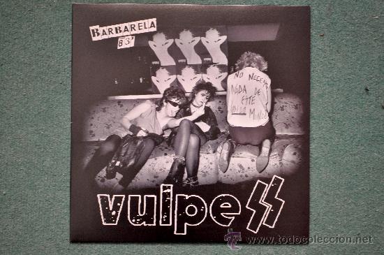 VULPESS (LAS VULPES) , L.P. BARBARELA 83 (Música - Discos - LP Vinilo - Punk - Hard Core)