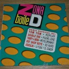 Discos de vinilo: ZONA DE BAILE.MIX 40.(EMI 1981). Lote 39461461