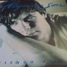 Vinyl-Schallplatten - ALEJANDRO SANZ, VIVIENDO DEPRISA - LP DE VINILO - 33339476