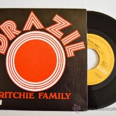 Discos de vinilo: RITCHIE FAMILY - BRAZIL (RCA SINGLE 1975) ESPAÑA. Lote 33339796