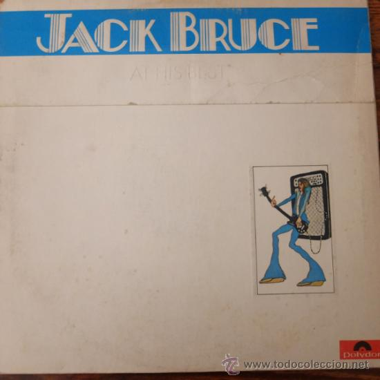 JACK BRUCE-AT HIS BEST-DOBLE LP-1972- POLYDOR (Música - Discos - LP Vinilo - Pop - Rock - Extranjero de los 70)