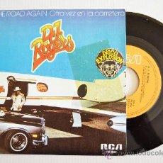 Discos de vinilo: D. J. ROGERS - ON THE ROAD AGAIN/LET MY LIFE SHINE (RCA SINGLE 1976) ESPAÑA. Lote 33346368