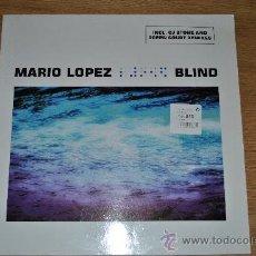 Discos de vinilo: MARIO LOPEZ.BLIND.(BLANCO Y NEGRO-INSOLENT-01). Lote 33346424