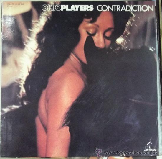 OHIO PLAYERS: CONTRADICTION, ORIGINAL ESPAÑOL CON PORTADA SIN CENSURAR (Música - Discos - LP Vinilo - Funk, Soul y Black Music)