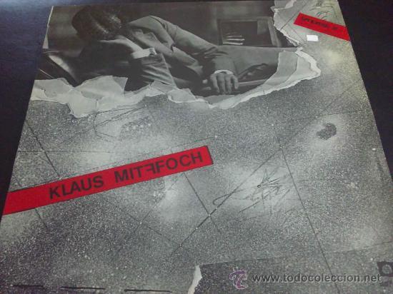 KLAUS MITFFOCH, TONPRESS - LP DE VINILO (Música - Discos - LP Vinilo - Pop - Rock - New Wave Extranjero de los 80)