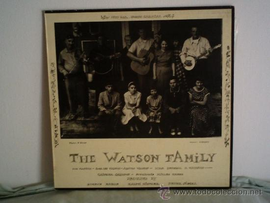THE WATSON FAMILY 1983 CONTIENE FOLLETE CON AMPLIA DOCUMENTACION LP (Música - Discos de Vinilo - Maxi Singles - Country y Folk)