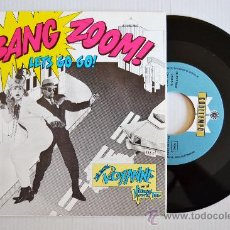 Discos de vinilo: THE REAL ROXANNE WITH HITMAN HOWIE TEE - LET'S GO GO (COOLTEMPO SINGLE 1985) ESPAÑA. Lote 33371488