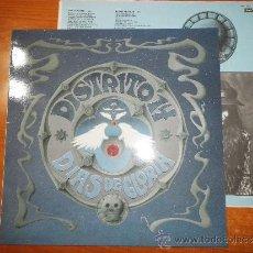 Discos de vinilo: DISTRITO 14 DIAS DE GLORIA MAXI SINGLE VINILO 1992 DUO CON BUNBURY HEROES DEL SILENCIO 5 TEMAS. Lote 33373552