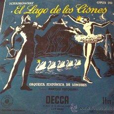 Discos de vinilo: TCHAIKOWSKY, EL LAGO DE LOS CISNES - DIRECTOR: ANATOLE FISTOULARI - DISCO Nº 2 - LP. Lote 33375253