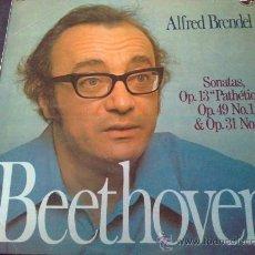 Discos de vinilo: BEETHOVEN, SONATAS - ALFRED BRENDEL, PIANO - LP. Lote 33375366