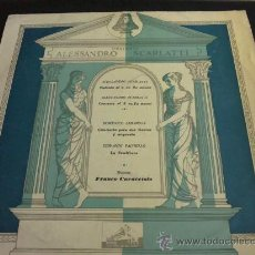 Discos de vinilo: SCARLATTI, CIMAROSA, PAISIELLO - DIRECTOR: FRANCO CARACCIOLO - LP DE VINILO. Lote 33376368
