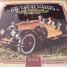 Discos de vinilo: EL GRAN GATSBY. THE GREAT GATSBY ( B.S.O.) LP ESPAÑA 1974 ( M/M) (VIN3). Lote 33385930
