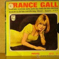 Discos de vinilo: FRANCE GALL - BUENAS NOCHES JOHN JOHN + 3 - PHILIPS 437 259 BE - 1966. Lote 33392002