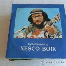 Discos de vinilo: XESCO BOIX - HOMENATGE A - 1984 2 LP'S. Lote 33399860