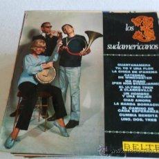 Discos de vinilo: LOS 3 SUDAMERICANOS - GUANTANAMERA 1967. Lote 33405646