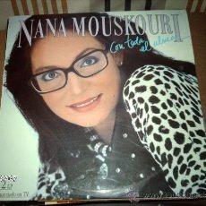 Discos de vinilo: NANA MOUSKOURI CON TODO EL ALMA. Lote 33397653