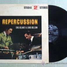 Discos de vinilo: LP-ERIC DELANEY & LOUIS BELLSON. Lote 33398997