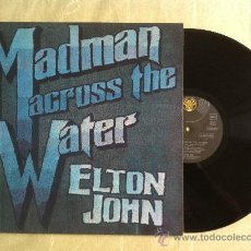 Discos de vinilo: LP-ELTON JOHN-MADMAN ACROSS THE WATER. Lote 33402673