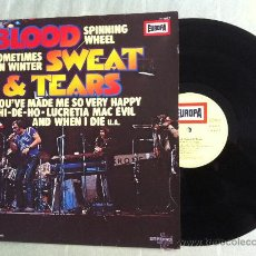 Discos de vinilo: LP-BLOOD SWEAT & TEARS-HITS. Lote 33402739