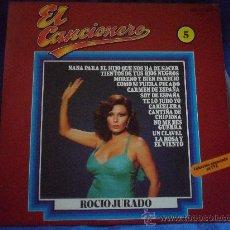 Discos de vinilo: ROCIO JURADO. EL CANCIONERO. LP CON 12 CANCIONES. BELTER, 1980.. Lote 33404318