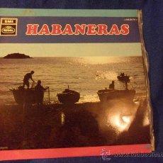 Discos de vinilo: HABANERAS. CORAL MARINERA LOS TIBURONES. LP CON 12 CANCIONES. EMI, 1969.. Lote 33406540
