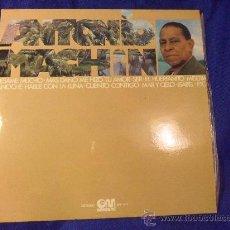 Discos de vinilo: ANTONIO MACHIN. LP CON 12 CANCIONES. GRAMUSIC, 1976. ISABEL. EL HUERFANITO. BESAME MUCHO. MAR Y CIEL. Lote 33406591
