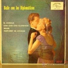 Discos de vinilo: LOS DIPLOMATICOS - BAILE CON LOS DIPLOMATICOS - EL CHOCLO + 3 - CUBALEGRE CEP-1463 - 1962. Lote 33409087