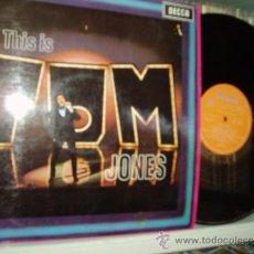 Discos de vinilo: TOM JONES LP FLY ME TO THE MOON + 11 DECCA ORIG. ORANGE LABEL SPAIN. Lote 33415123