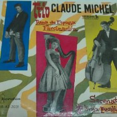 Discos de vinilo: TRIO CLAUDE MICHEL-DAMA DE ESPAÑA +3-EP-EDITA IBEROFON-TOREADOR-SPAIN-AÑO 1961-1232.. Lote 33417195