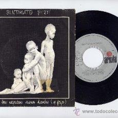 Discos de vinilo: GLUTAMATO YE YE. PUNK. VINILO 45 RPM. TODOS LOS NEGRITOS...+ RECUERDA FORMENTERA.ARIOLA 1984. Lote 33418397
