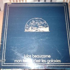 Discos de vinilo: JULOS BEAUCARNE MON TERROIR C´EST LES GALAXIES . Lote 33420198