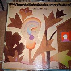 Discos de vinilo: JULOS BEAUCARNE FRONT DE LIBERATION DES ARBRES FRUITIERS . Lote 33420272