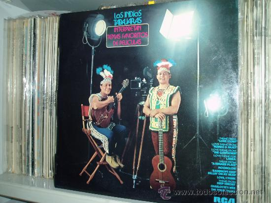 LOS INDIOS TABAJARAS LP TEMAS FAVORITOS DE PELICULAS SPAIN (Música - Discos - LP Vinilo - Étnicas y Músicas del Mundo)