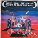 Discos de vinilo: LP - STEVE LYON: THE DOCTOR - THERE'S NO PLACE LIKE MARS (SPAIN, FLYING FISH RECORDS 1983). Lote 33431447