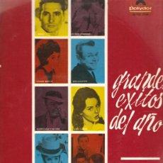 Discos de vinilo: LP GRANDES EXITOS DEL AÑO: CONNIE FRANCIS, LOS SONOR, FREDDY, LOS JOKERS, MIGUEL RIOS, DUO CRAMER . Lote 33436419