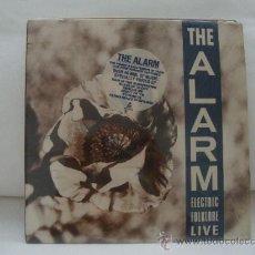 Disques de vinyle: THE ALARM/ ELECTRIC FOLKLORE LIVE. Lote 33991358