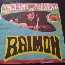Discos de vinilo: RAIMON, CANÇO D'AMOR NÚM 3. SINGLE FONORAMA. Lote 33439239